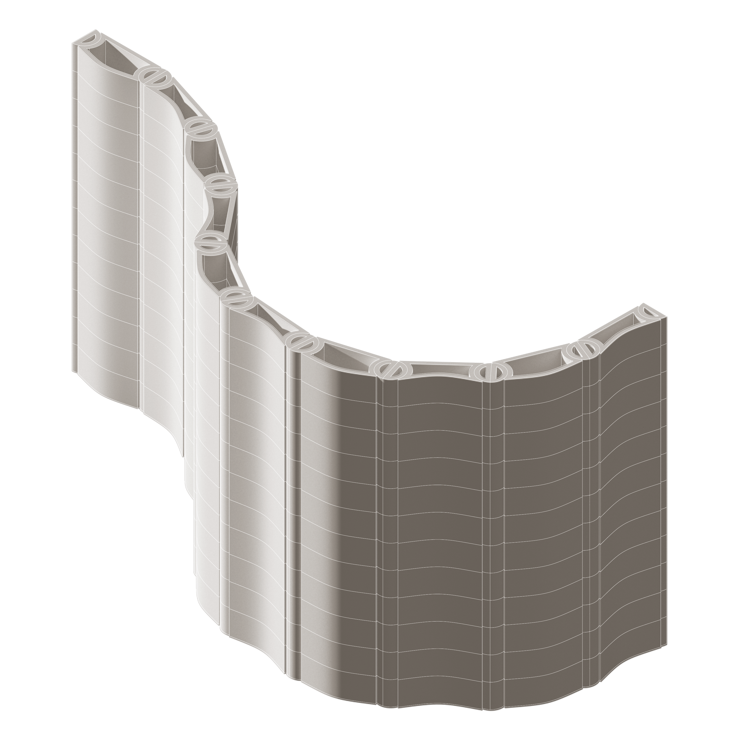 Curved Wall Configuration